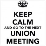 Union Meeting –  Tuesday, 10/15/19 @ 6 PM