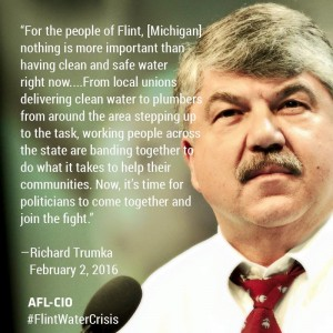 trumka flint water
