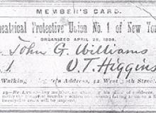 Origins of IATSE Stagehands Union