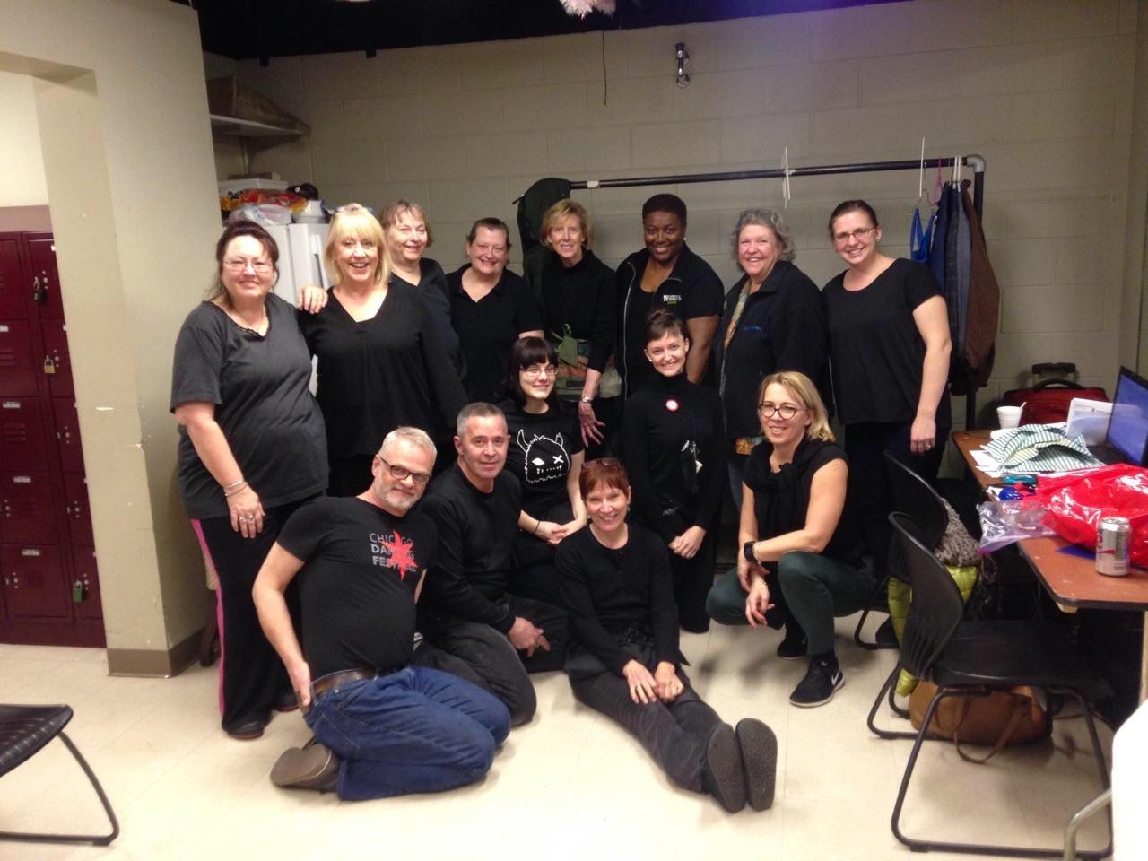 '17 Wardrobe Crew @ The Nutcracker