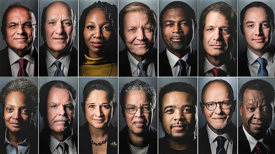 Who are the candidates for mayor of Chicago?