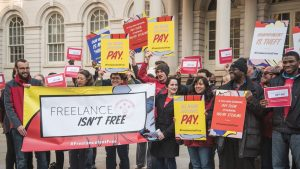 Freelancers Want to Join Unions …