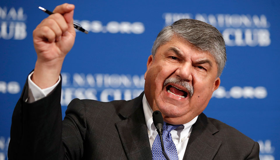Trumka rips Senate GOP and its leader, McConnell