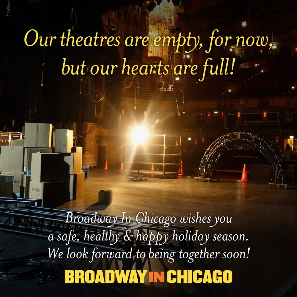 Happy Thanksgiving from Broadway in Chicago