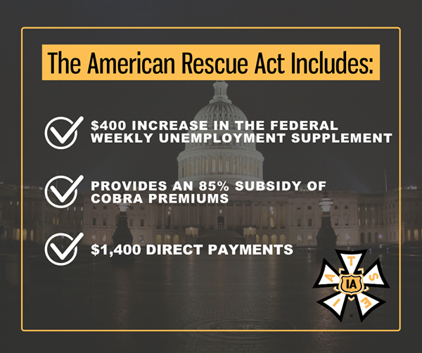 IATSE supports the American Rescue Act