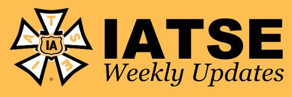 IATSE Weekly Newsletter 7/9/2021